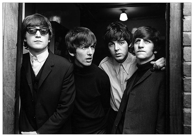 Портретный постер Beatles / Битлз